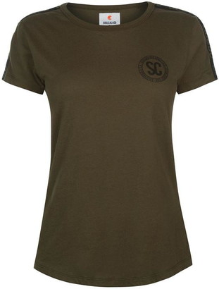 Soul Cal SoulCal Deluxe Athletic Badge T Shirt