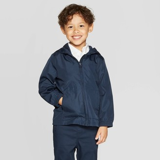 Cat & Jack Toddler Boys' Uniform Windbreaker Jacket - Cat & JackTM Navy