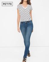 White House Black Market Petite Release Hem Slim Jeans