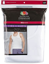 Fruit of the Loom Premium 3-pc. Sleeveless Tank-Big