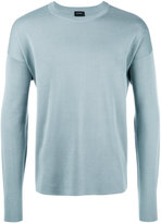 Jil Sander crew neck jumper - men - Cotton - 50