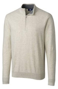 Cutter & Buck Cutter and Buck Men's Big and Tall Lakemont Half Zip Sweater