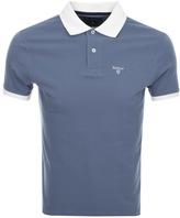 Barbour Lynton Polo T Shirt Blue