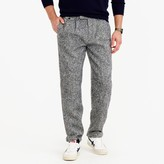 J.Crew Double-pleated relaxed-fit pant in Irish tweed