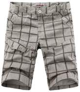 Ouroboros Shorts Men's Cargo Shorts, Quick-dry Design, Grid