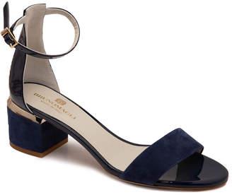 Bruno Magli Dora Suede & Patent Sandal