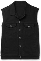 Kent & Curwen Hardy Stretch-Denim Gilet