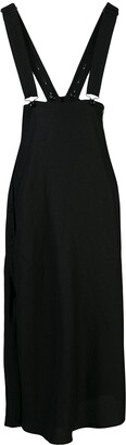 Y's Button-Detail Pinafore Skirt
