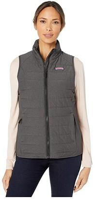 Vineyard Vines Mountain Weekend Puffer Vest (Condor) Women's Vest