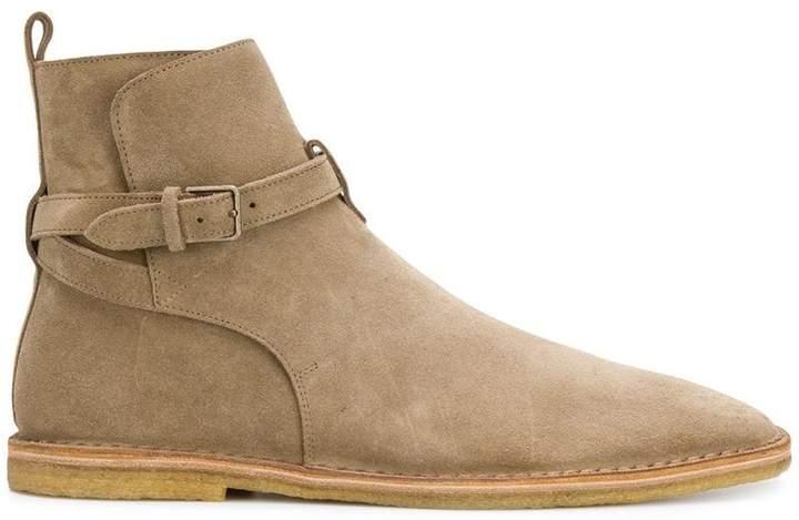 Saint Laurent Wyatt Jodhpur flat boots