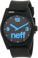 Neff Unisex NF0201BKCY Daily Watch Analog Display Japanese Quartz Black Watch