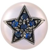 Carolina Bucci 'Superstellar' pearl and sapphire stud earring