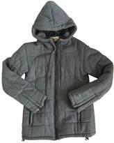 Eleven Paris Grey Cotton Coat for Women