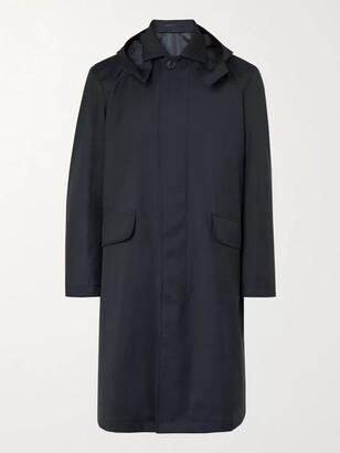 Mr P. Tech Virgin Wool Hooded Coat