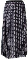 Giamba floral print pleated skirt - women - Silk/Polyester - 42
