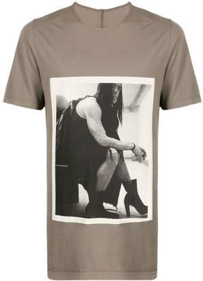 Rick Owens Level Big Rick-print T-shirt
