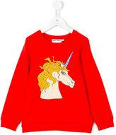 Mini Rodini Unicorn sweatshirt - kids - Spandex/Elastane/Micromodal - 3 yrs