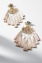 Deepa Gurnani Cwen Tassel Drop Earrings