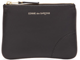Comme des Garcons Classic Small Pouch in Black.