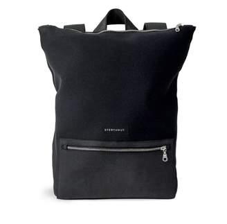 Sterthous Black Neoprene Backpack