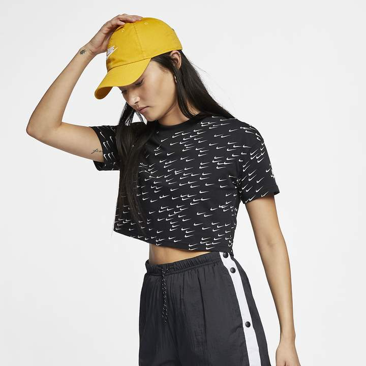 d920ca9b6 White Nike Crop Top - ShopStyle