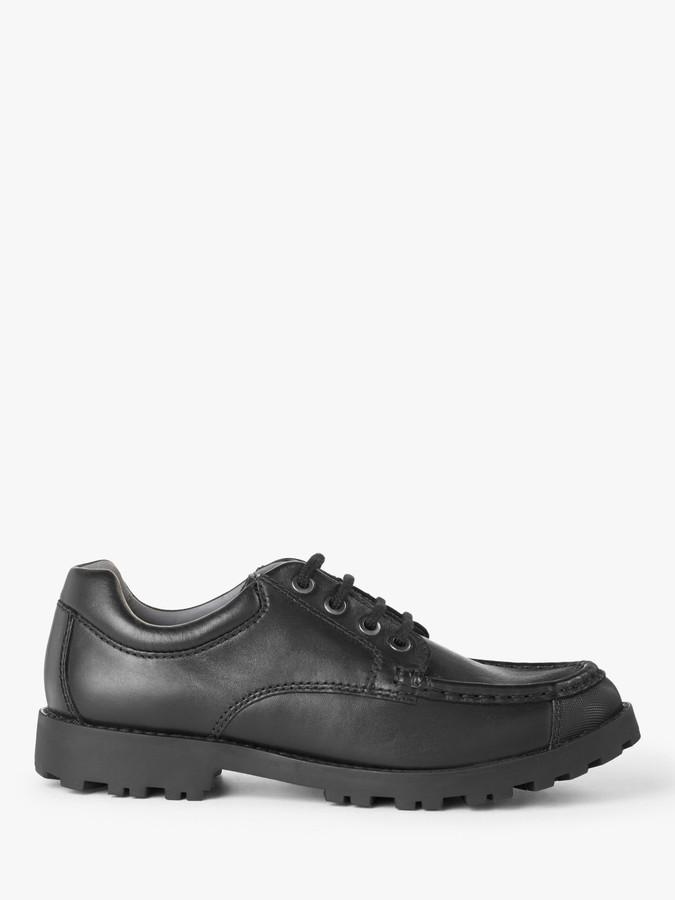 John Lewis & Partners Children's Yorkshire Lace Up Shoes, Black