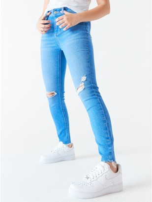 M&Co Teen ripped skinny jeans