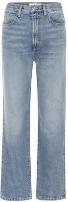 Dakota Slvrlake high-rise straight jeans