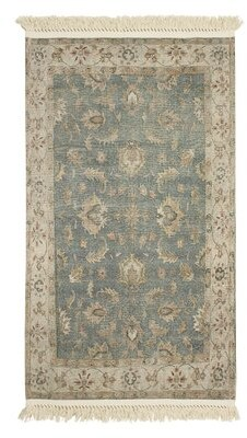 """French Connection Lipinski Vegetable Dyed Cotton Brown/Green Area Rug Rug Size: Rectangle 2'6"""" x 4'2"""""""