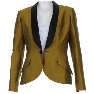 Devi Kroell Yellow Wool Jackets