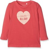 Name It Baby Girls' Nitfeom Ls Nb Long Sleeve Top