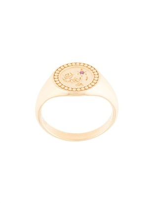 MEADOWLARK Amulet Love signet ring