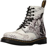 Dr. Martens Men's Pascal Demented are Go Backhand Combat Boot