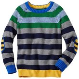 Boys Stacks Of Stripes Sweater