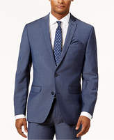Bar III Men's Slim-Fit Active Stretch Blue Suit Jacket, Created for Macy's