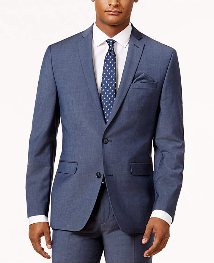 7b8e53d9 Men Dark Blue Suit - ShopStyle