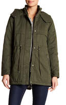 Levi's Hooded Faux Shearling Lined Fishtail Parka