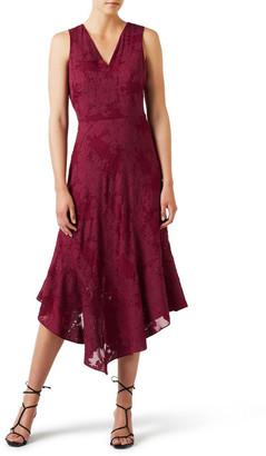 David Lawrence Paula Burnout Dress