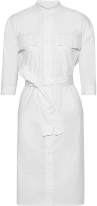 Rebecca Minkoff Kassidy Belted Cotton-poplin Shirt Dress