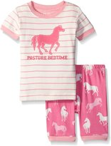 Hatley Little Girls Classic Horses Short Pajama Set