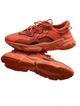 adidas Ozweego Orange Cloth Trainers