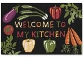 """Nourison Veggies 1'8"""" x 2'6"""" Kitchen Rug"""