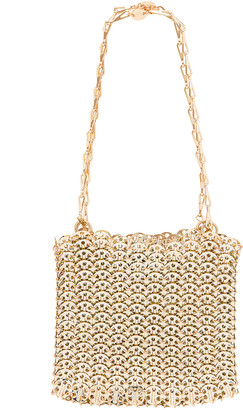 Paco Rabanne Iconic 1969 Bag in Light Gold | FWRD