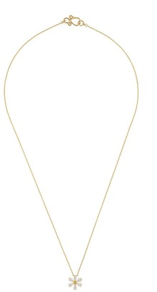 Sophie Bille Brahe 18kt yellow gold Canary Maguerite necklace