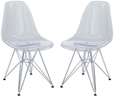Modway Paris Dining Side Chairs (Set of 2)