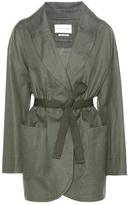Etoile Isabel Marant Isabel Marant, Étoile Ilona cotton and linen coat