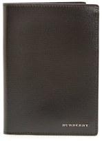 Burberry 'Kirtley' Calfskin Leather Passport Case