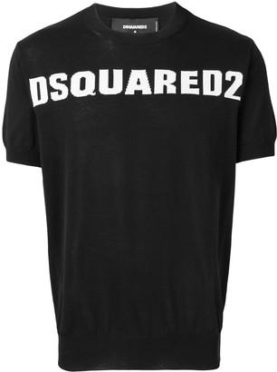 DSQUARED2 fine-knit logo jumper