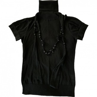 Essentiel Antwerp Black Wool Top for Women