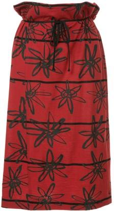 Comme Des Garçons Pre-Owned Rubber Flower Skirt